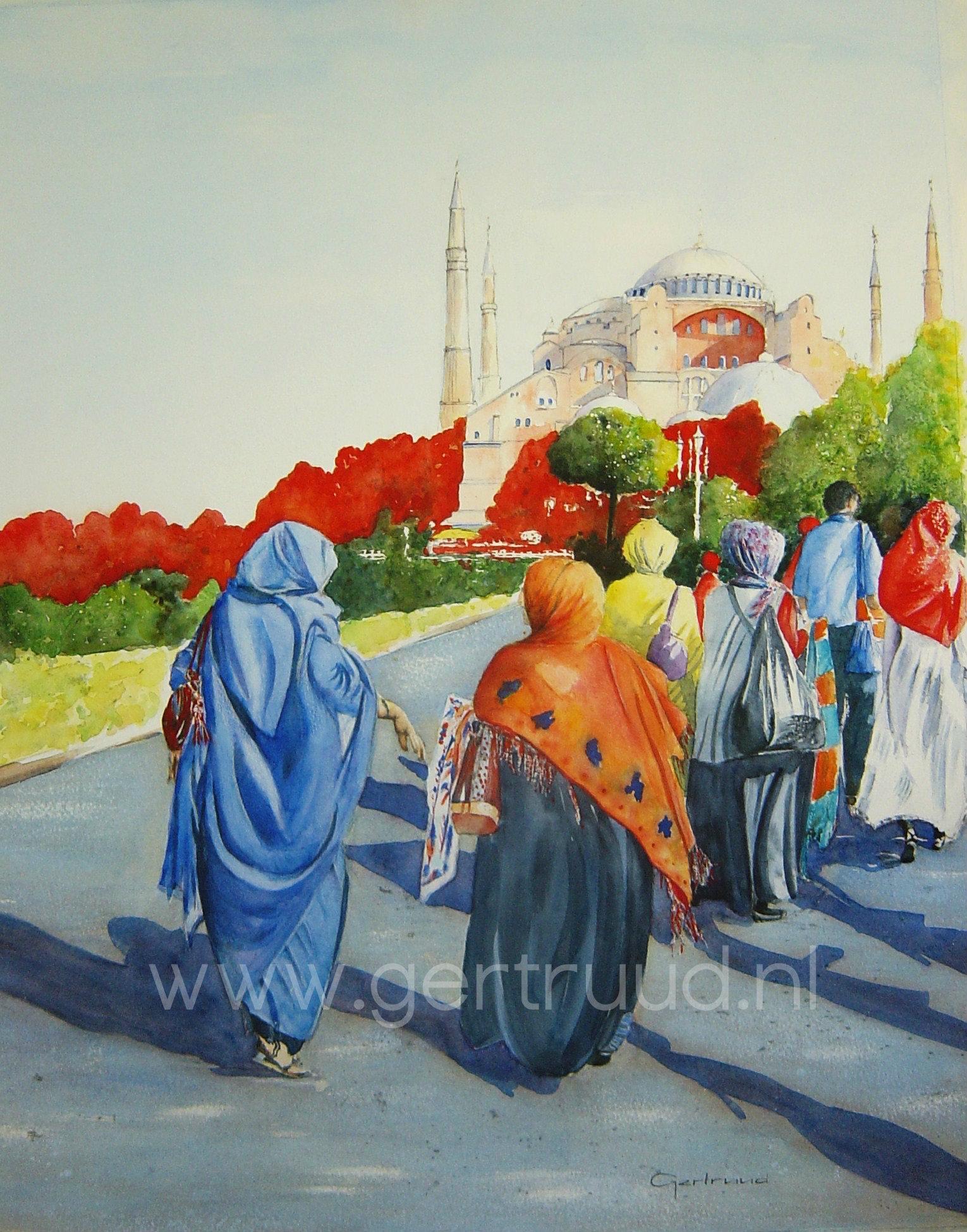 Istanbul watermerk