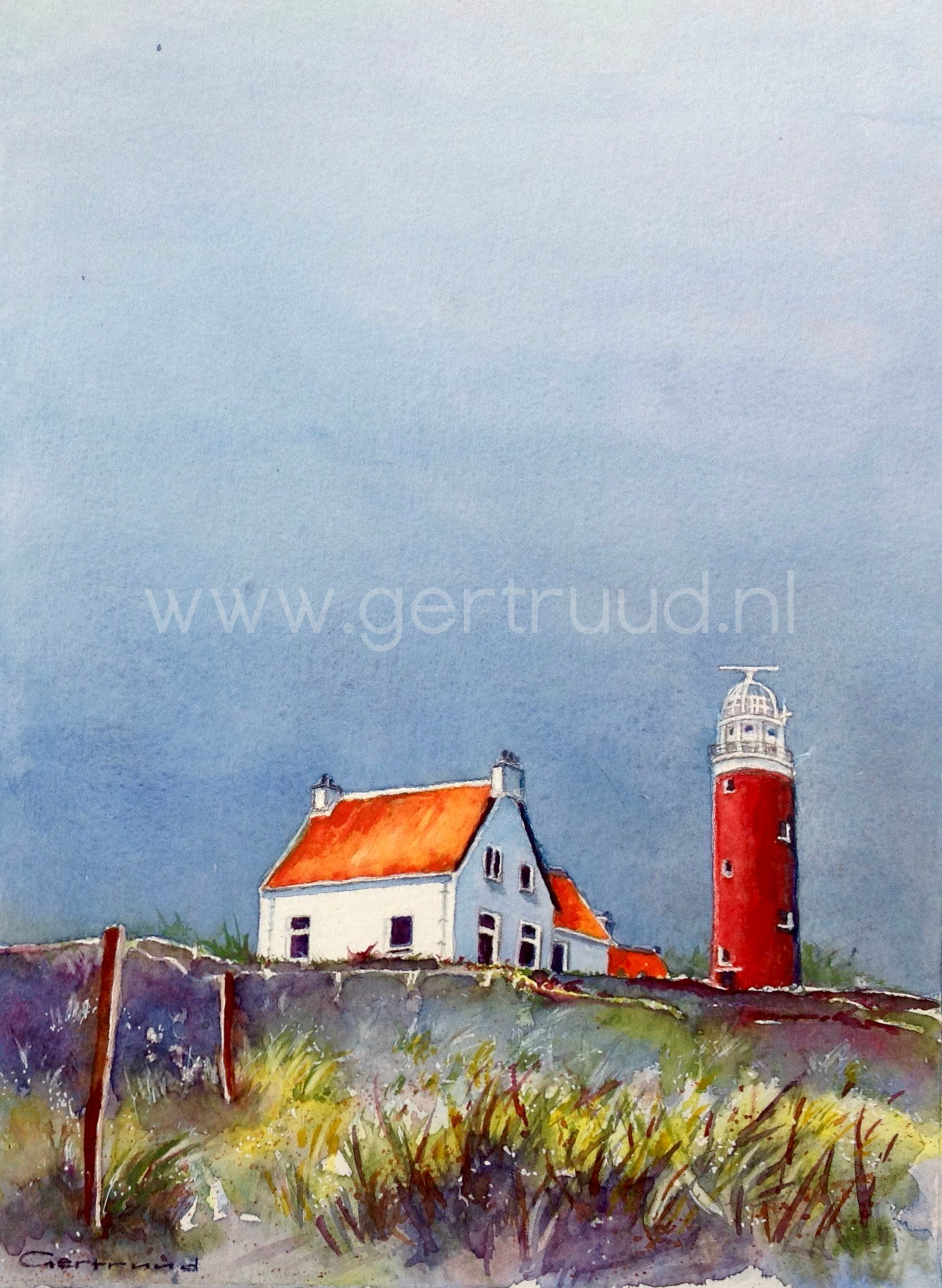 Texel vuurtoren 1